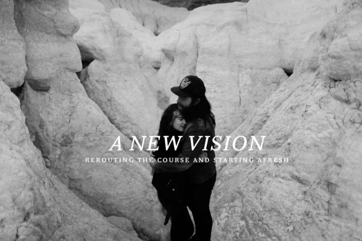 A New Vision: Rerouting the Course and Starting Afresh by Levi Tijerina