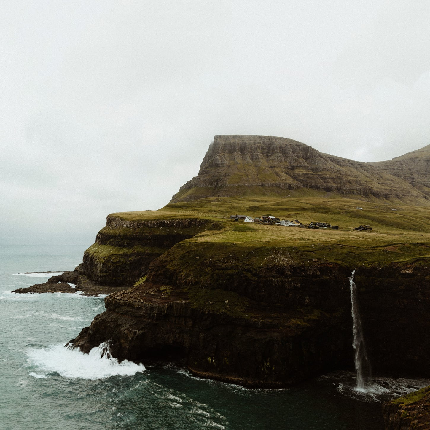 Gasadalur in the Faroe Islands by Levi Tijerina Intimate adventure elopement photographer in the Faroes