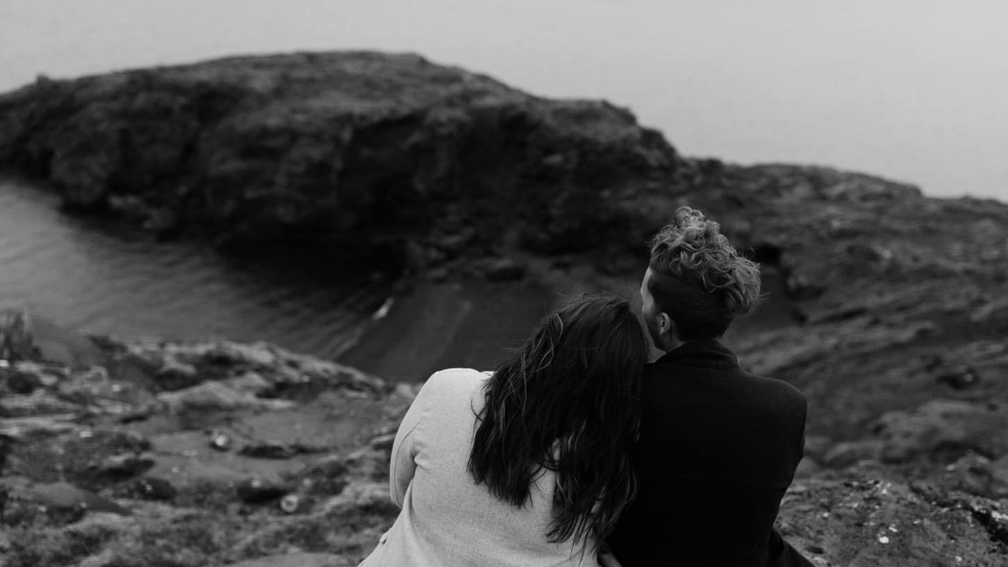 iceland engagement photography