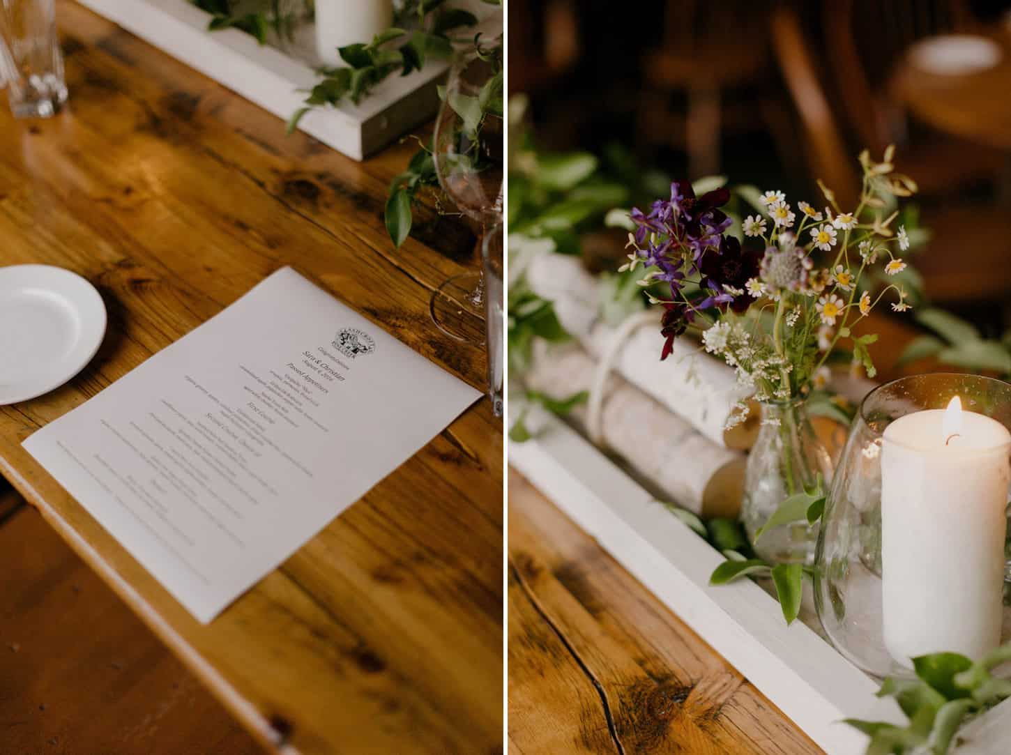 wedding at pine creek cook house in aspen