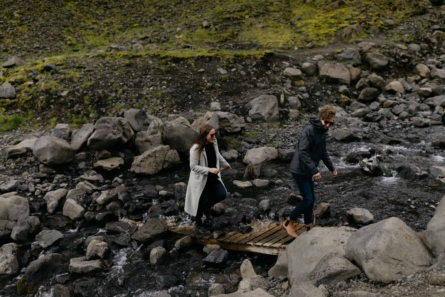 intimate hipster engagement photos iceland
