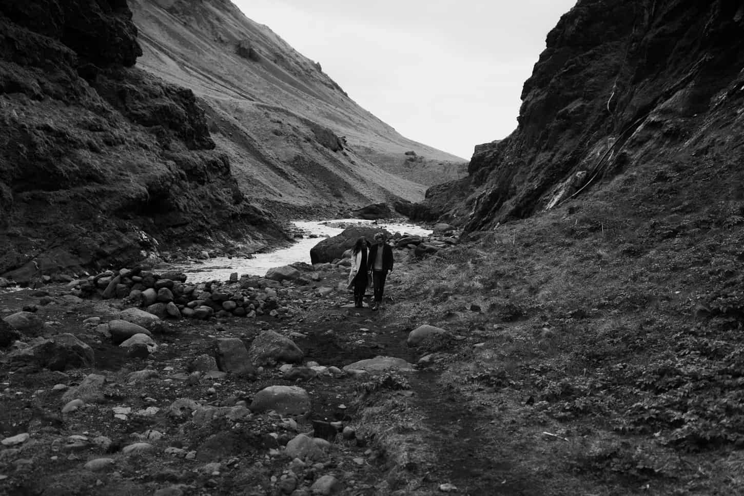 iceland engagement photos hipsters